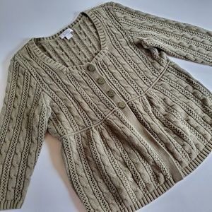 Christopher and Banks sweater size medium